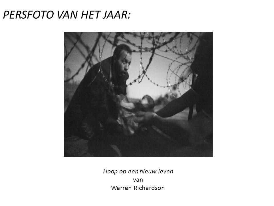 PERSFOTO VAN HET JAAR: Hoop op een nieuw leven van Warren Richardson