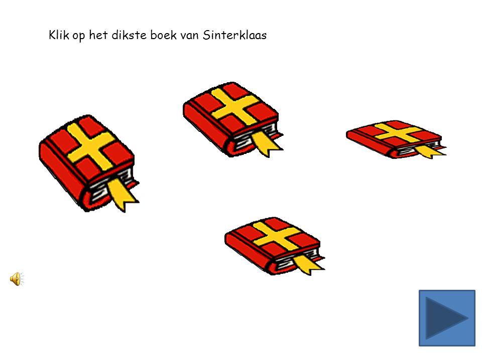 Klik op het dunste boek van Sinterklaas