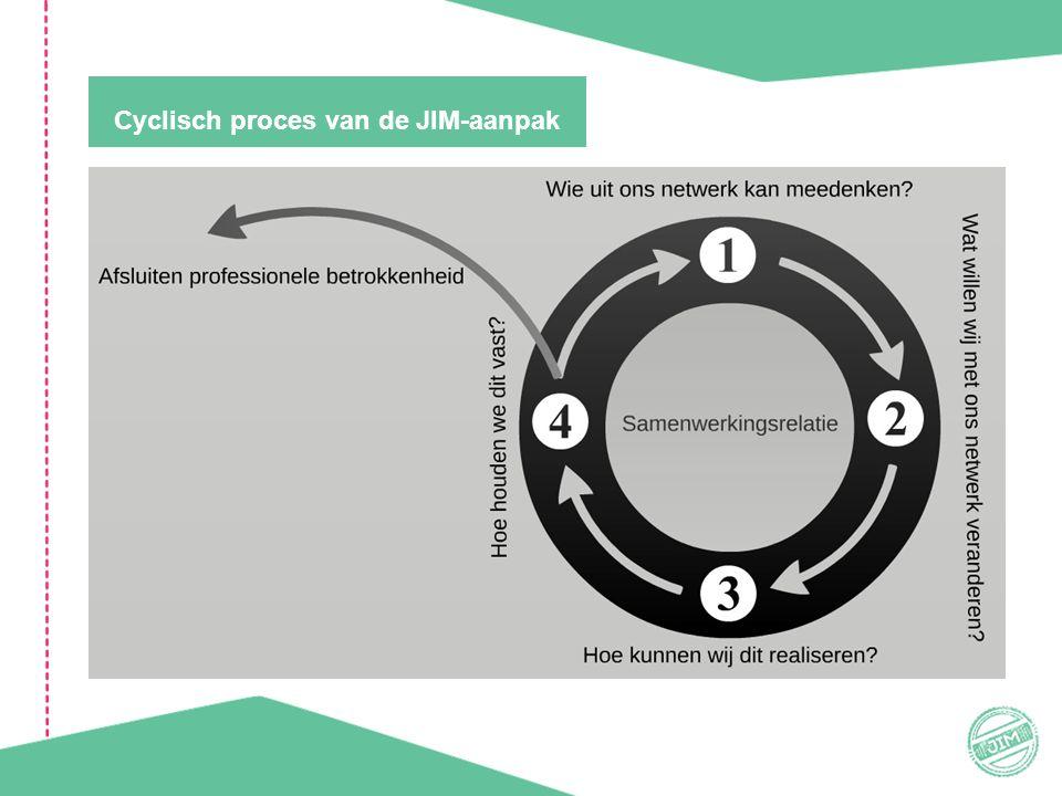 Cyclisch proces van de JIM-aanpak