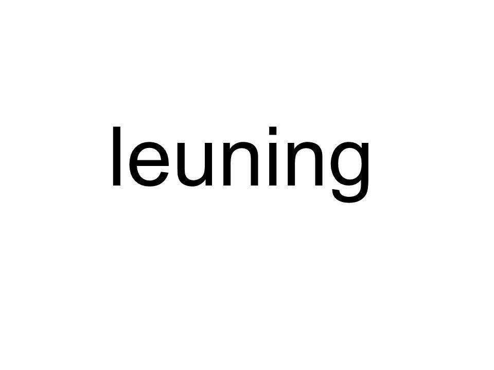 leuning