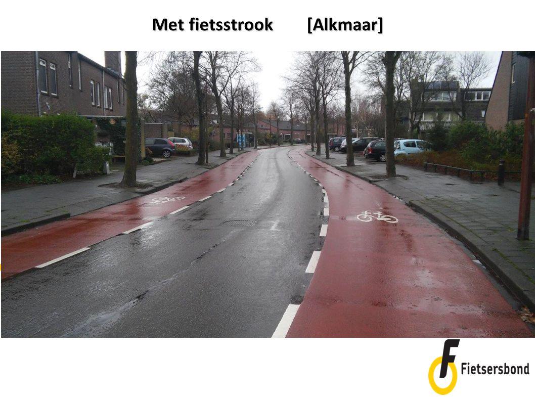 Met fietsstrook [Alkmaar]