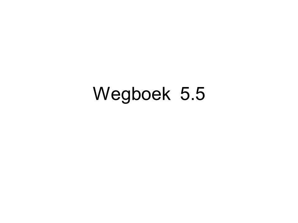 Wegboek 5.5