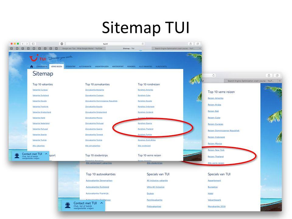 Sitemap TUI