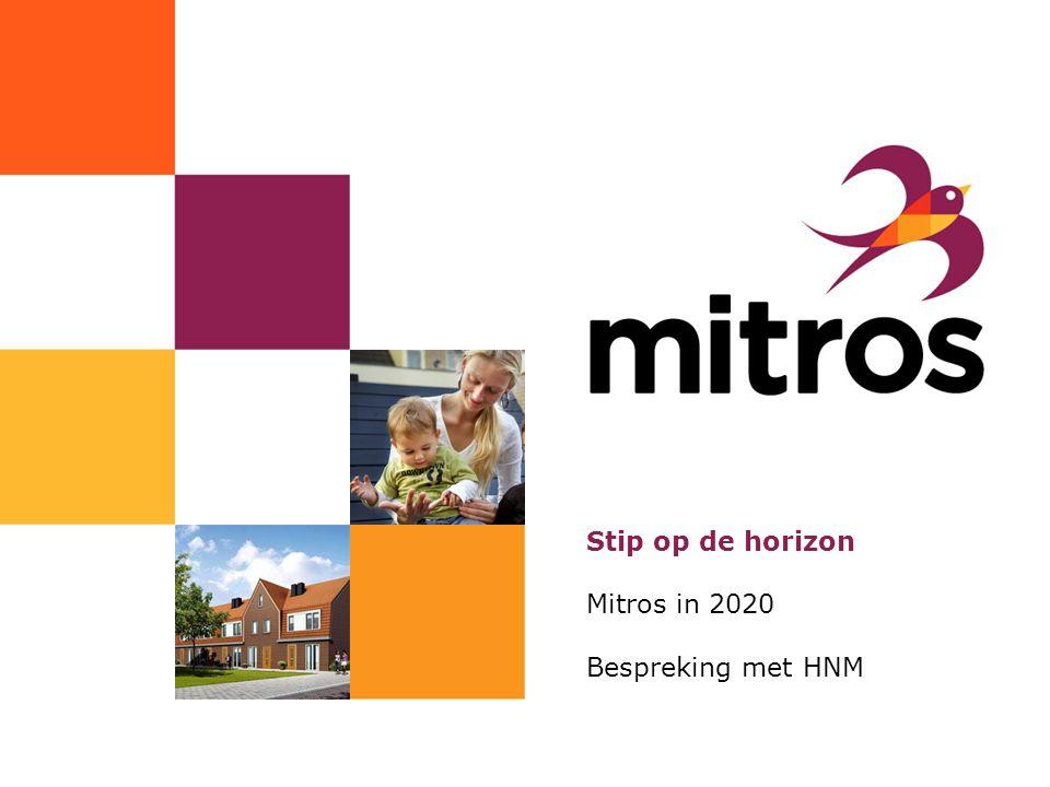 www.mitros.nl Stip op de horizon Mitros in 2020 Bespreking met HNM