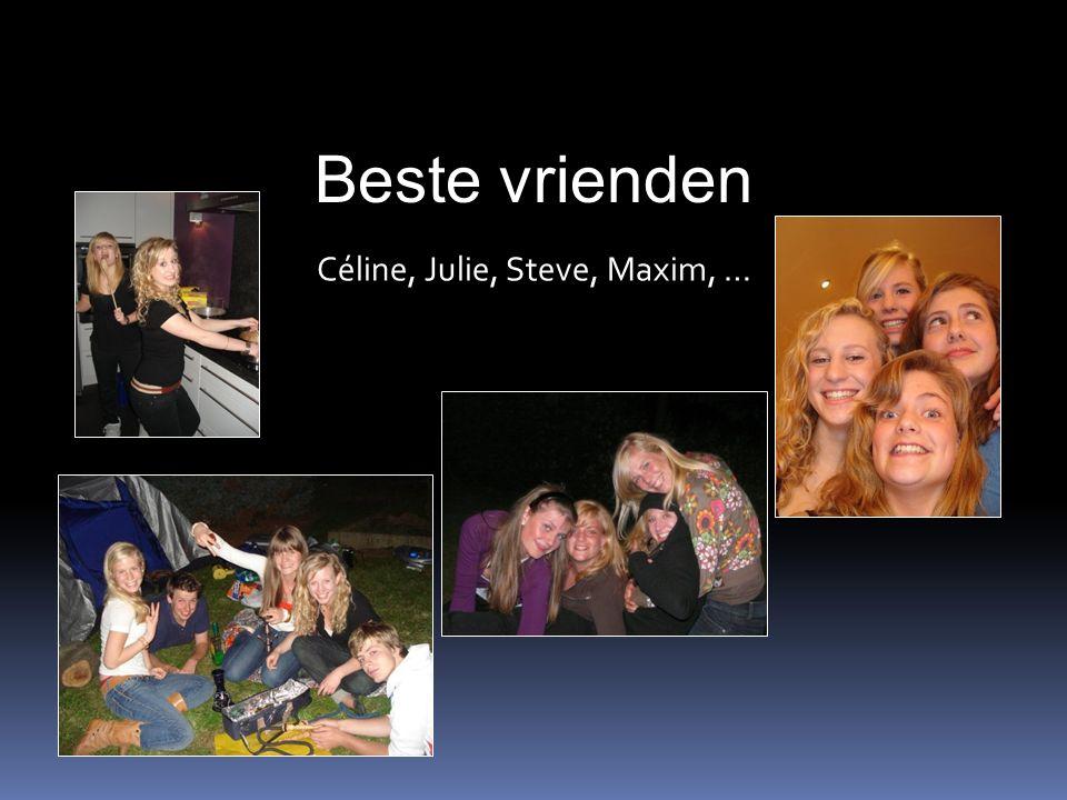 Beste vrienden Céline, Julie, Steve, Maxim, …