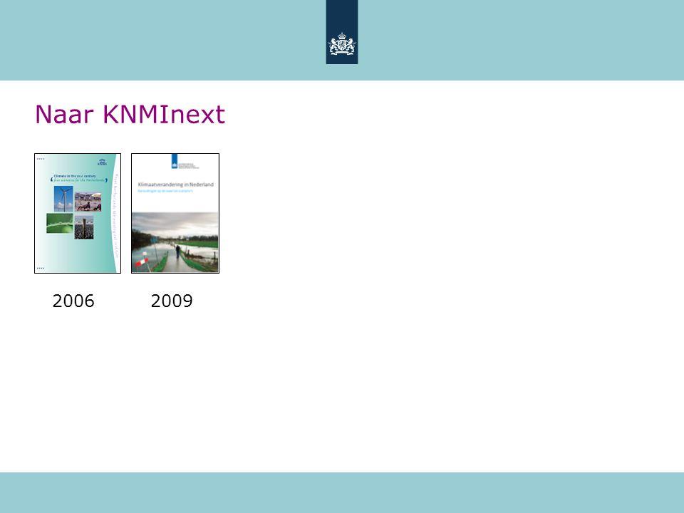 Naar KNMInext 2006 2009