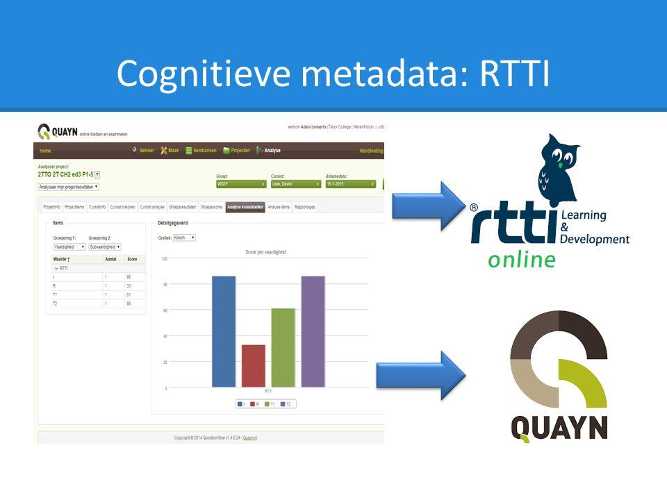 Cognitieve metadata: RTTI