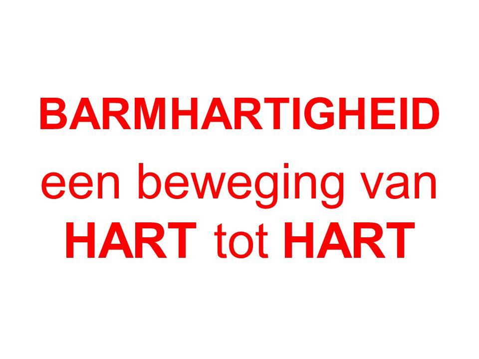 BARMHARTIGHEID een beweging van HART tot HART
