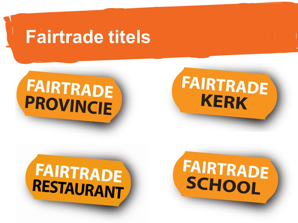 Fairtrade titels