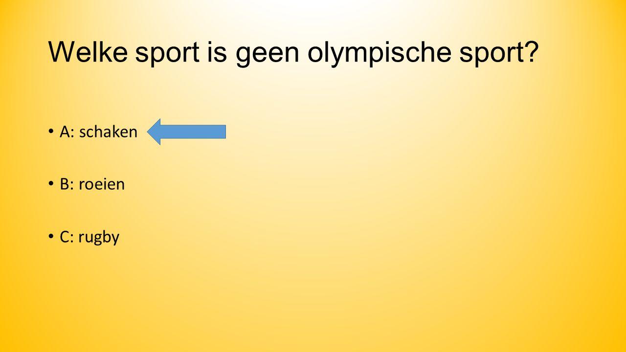 Wat symboliseren de 5 olympische ringen.