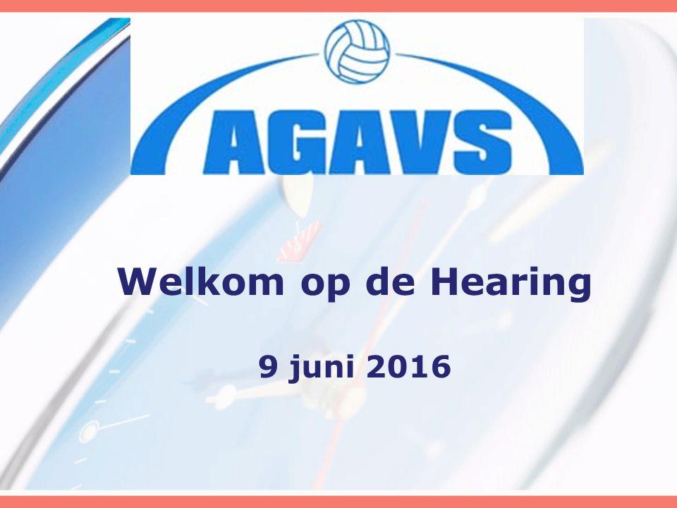 Welkom op de Hearing 9 juni 2016