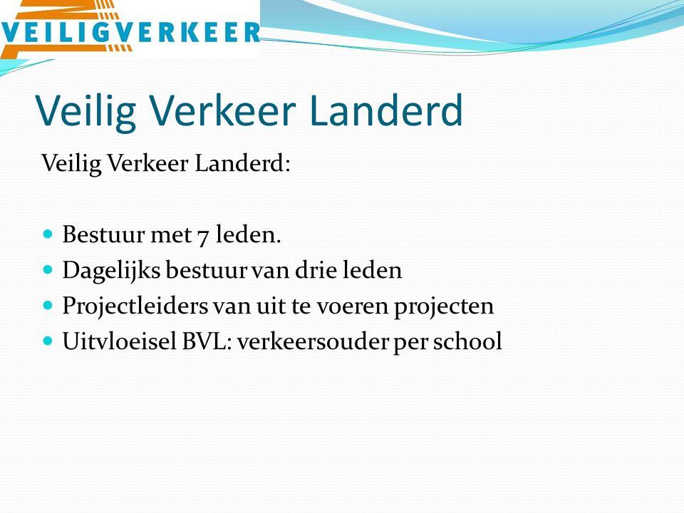 Veilig Verkeer Landerd Veilig Verkeer Landerd: Bestuur met 7 leden.