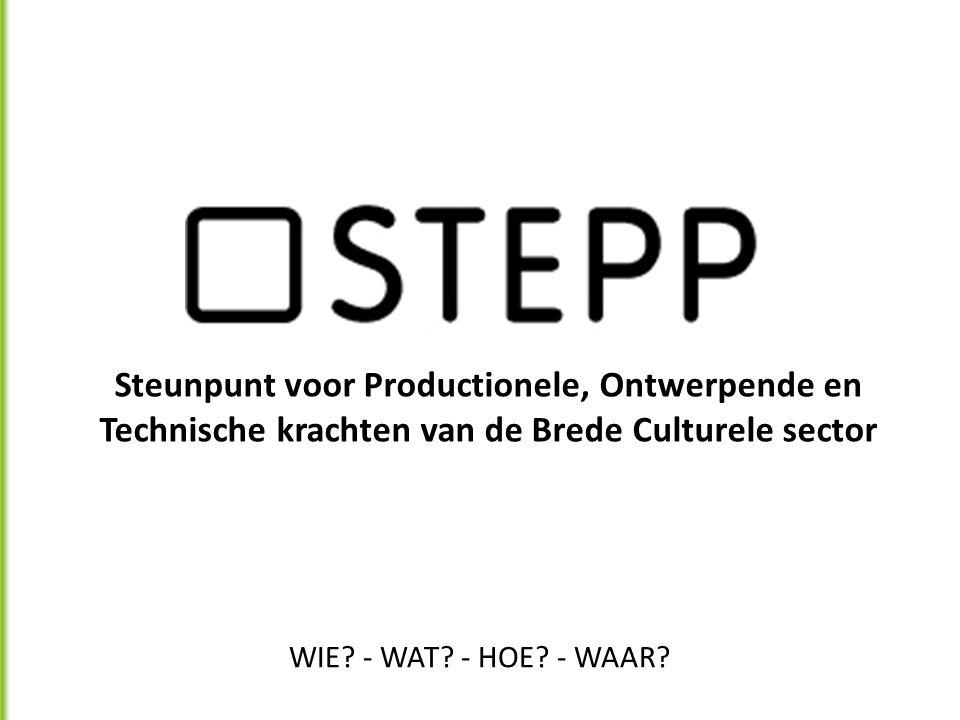 Steunpunt voor Productionele, Ontwerpende en Technische krachten van de Brede Culturele sector WIE.