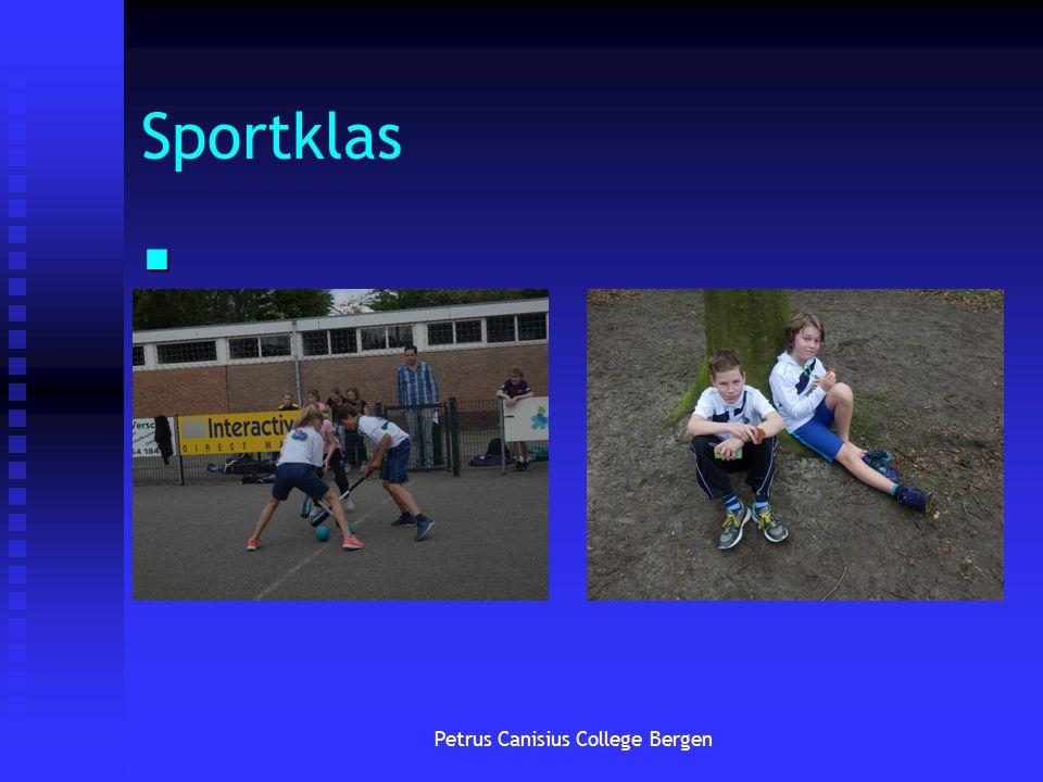 Sportklas Petrus Canisius College Bergen