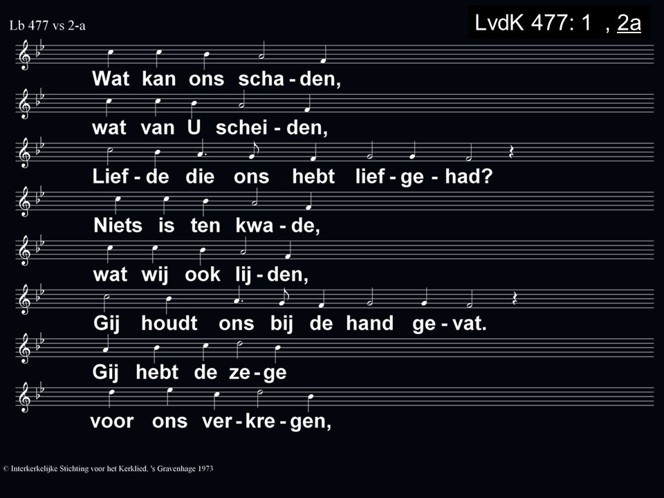 LvdK 477: 1a, 2a