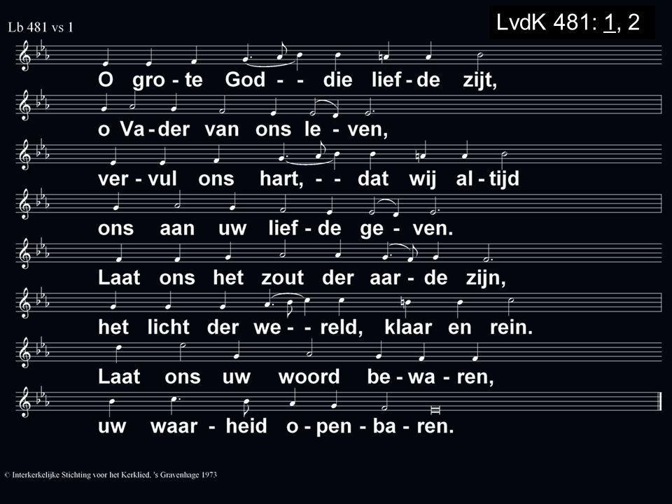 LvdK 481: 1, 2
