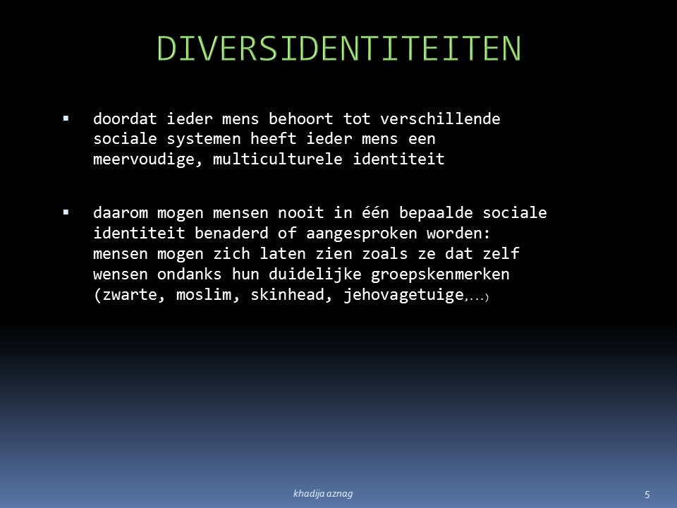 DiversIdentiteiten Bestellen bij pric@vlaamsbrabant.be : khadija aznagpric@vlaamsbrabant.be 6