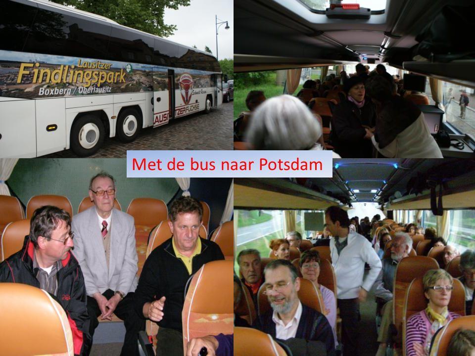 Met de bus naar Potsdam