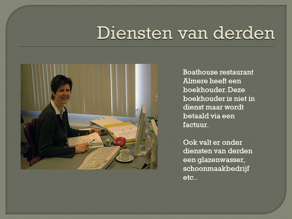 Boathouse restaurant Almere heeft een boekhouder.