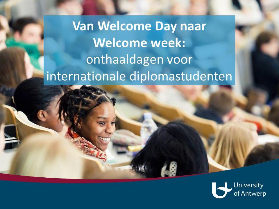 International Students Office Parul Goel Kim Boeye Dienst Internationale Samenwerking Herlinde Van de Maele