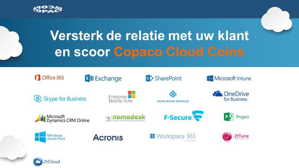 Versterk de relatie met uw klant en scoor Copaco Cloud Coins