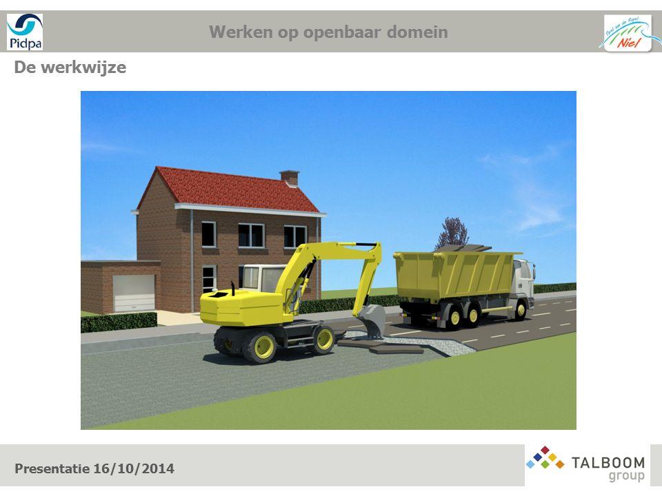 De werkwijze Presentatie 16/10/2014