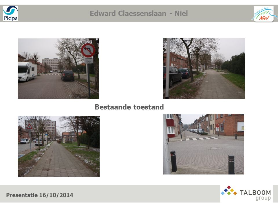 Werken op openbaar domein Presentatie 16/10/2014 De werken