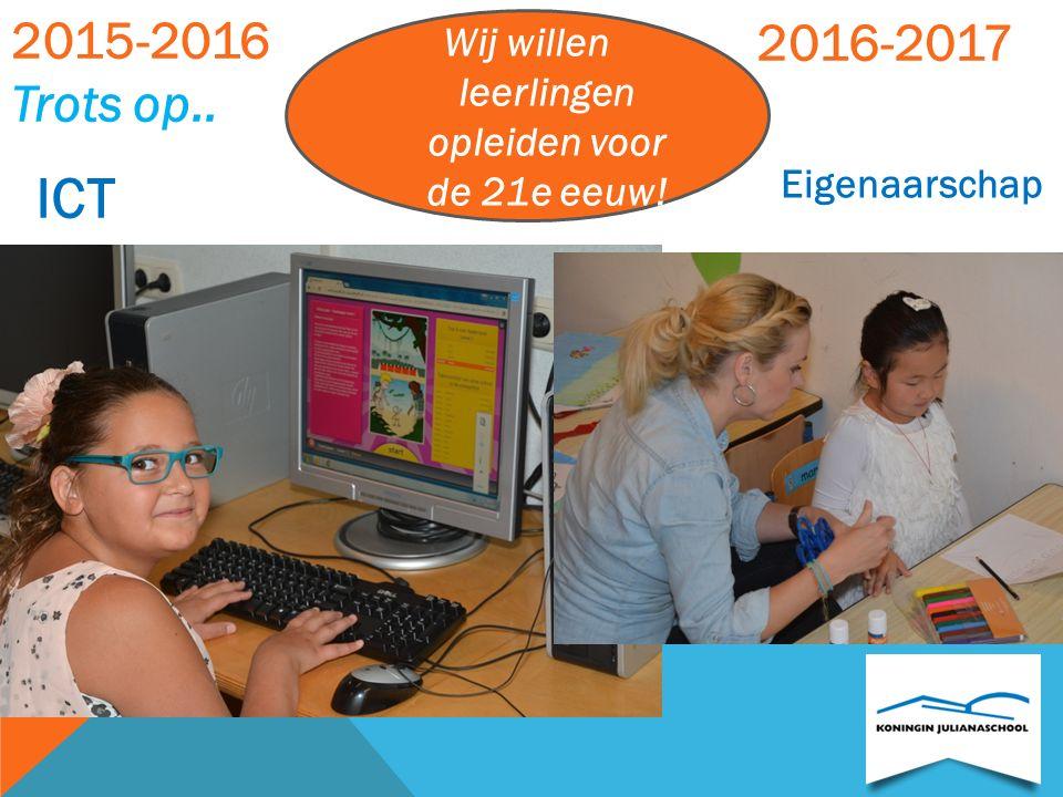 STREEFBEELDEN (SCHOOL)ONTWIKKELING Wij willen leerlingen opleiden voor de 21e eeuw! Onze kanjerschool is in blijvende pedagogische ontwikkeling! Onze