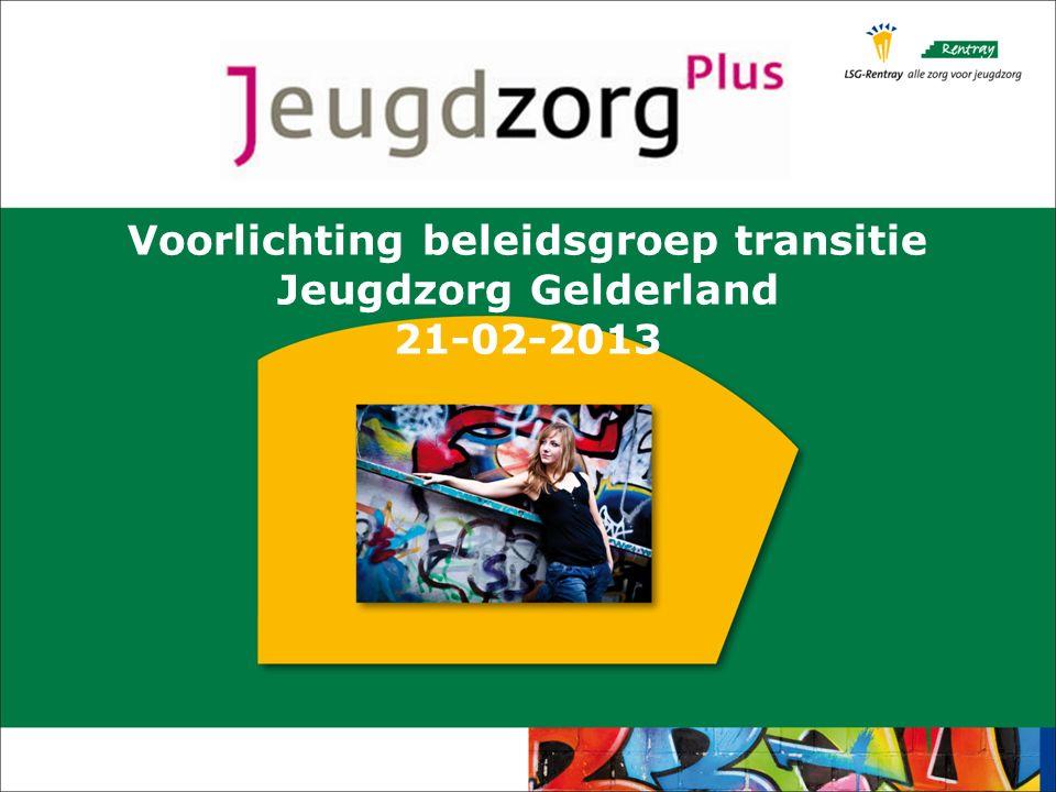 Voorlichting beleidsgroep transitie Jeugdzorg Gelderland 21-02-2013
