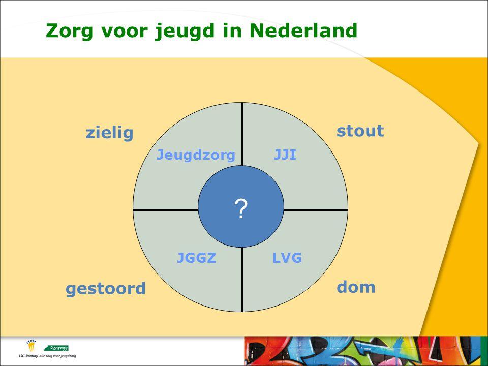 zielig gestoord stout dom JeugdzorgJJI JGGZLVG Zorg voor jeugd in Nederland