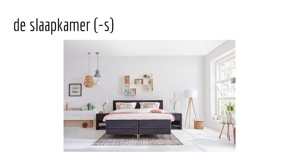 de slaapkamer (-s)