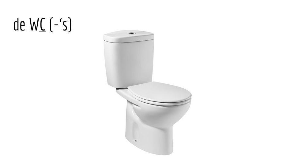 de WC (-'s)