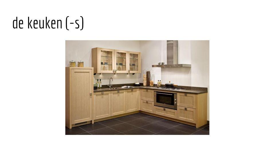 de keuken (-s)
