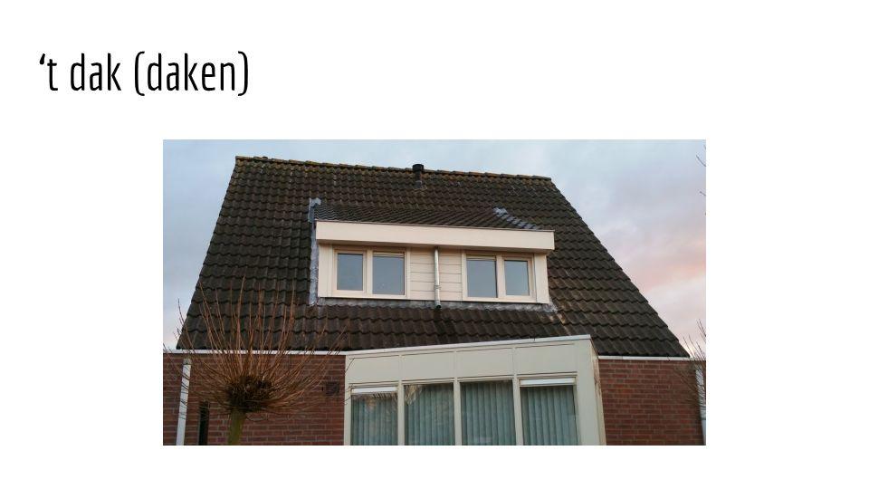 't dak (daken)