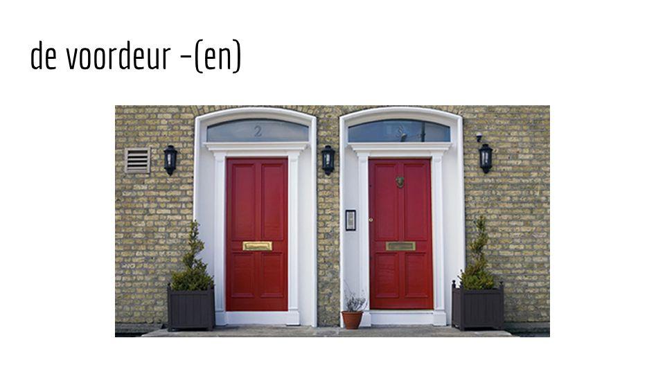 de voordeur –(en)