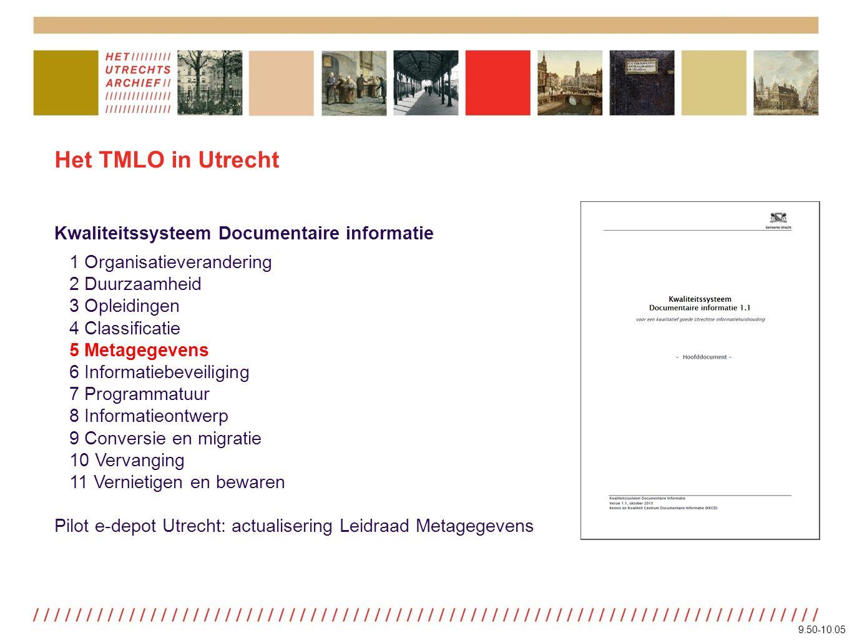 Aggregaties TMLO, v. 1.1, p. 48ISAD(G), v. 2 (NL), p. 37 9.50-10.05