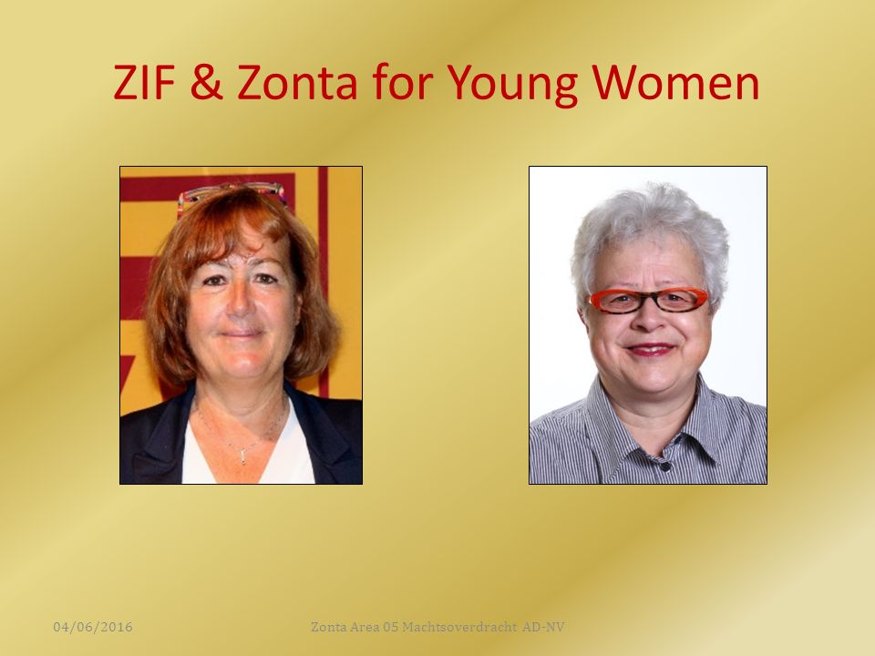 ZIF & Zonta for Young Women 04/06/2016Zonta Area 05 Machtsoverdracht AD-NV