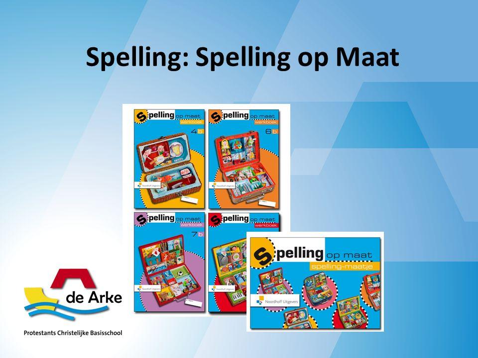 Spelling: Spelling op Maat