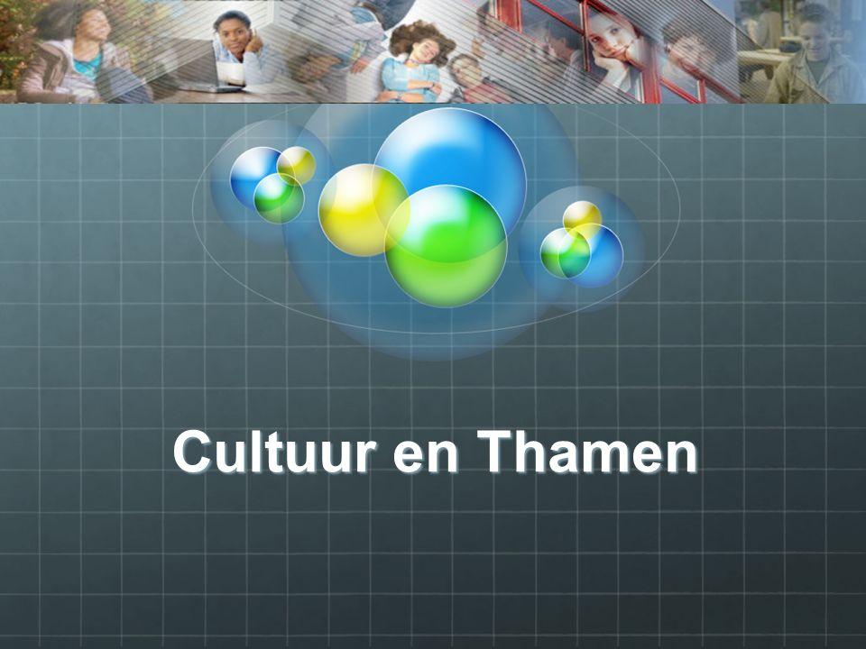 Cultuur en Thamen