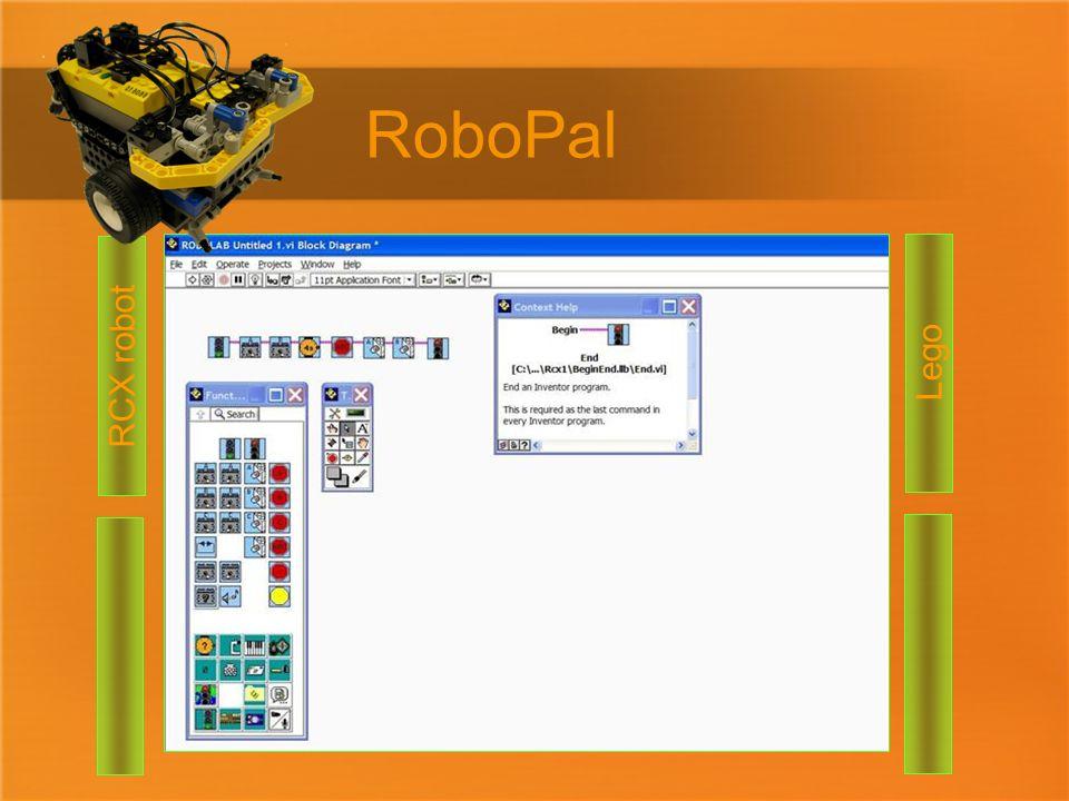 RoboPal RCX robot Lego