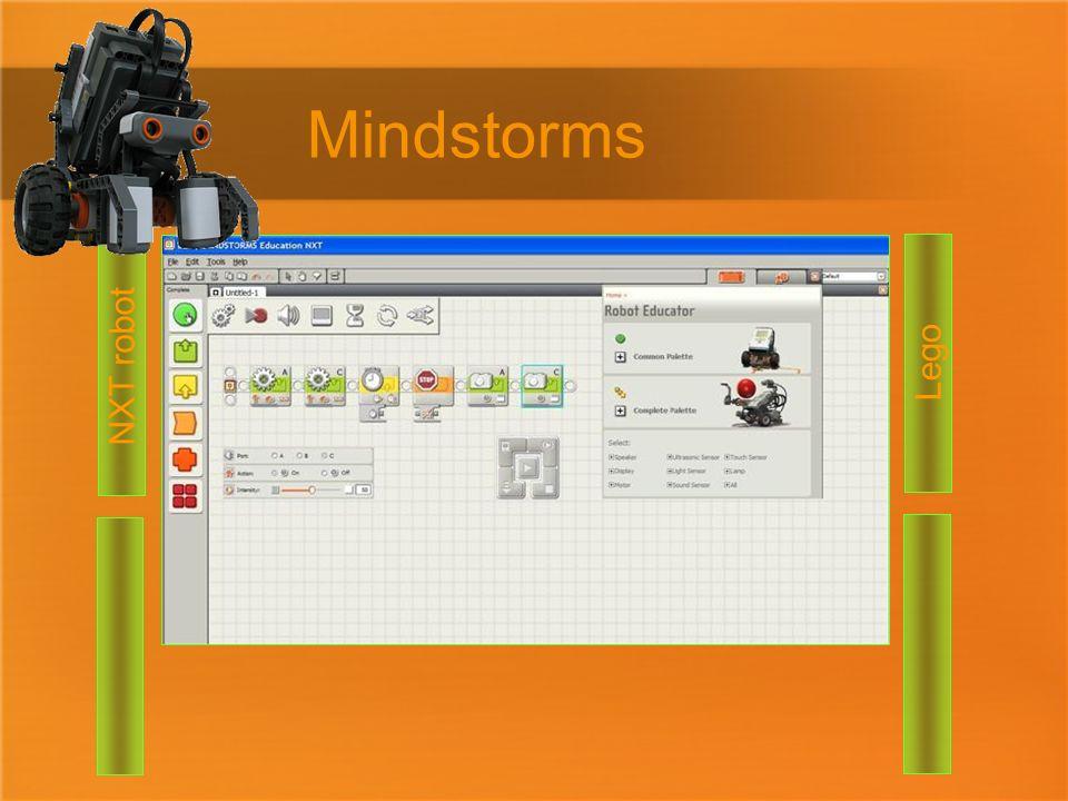 Mindstorms NXT robot Lego