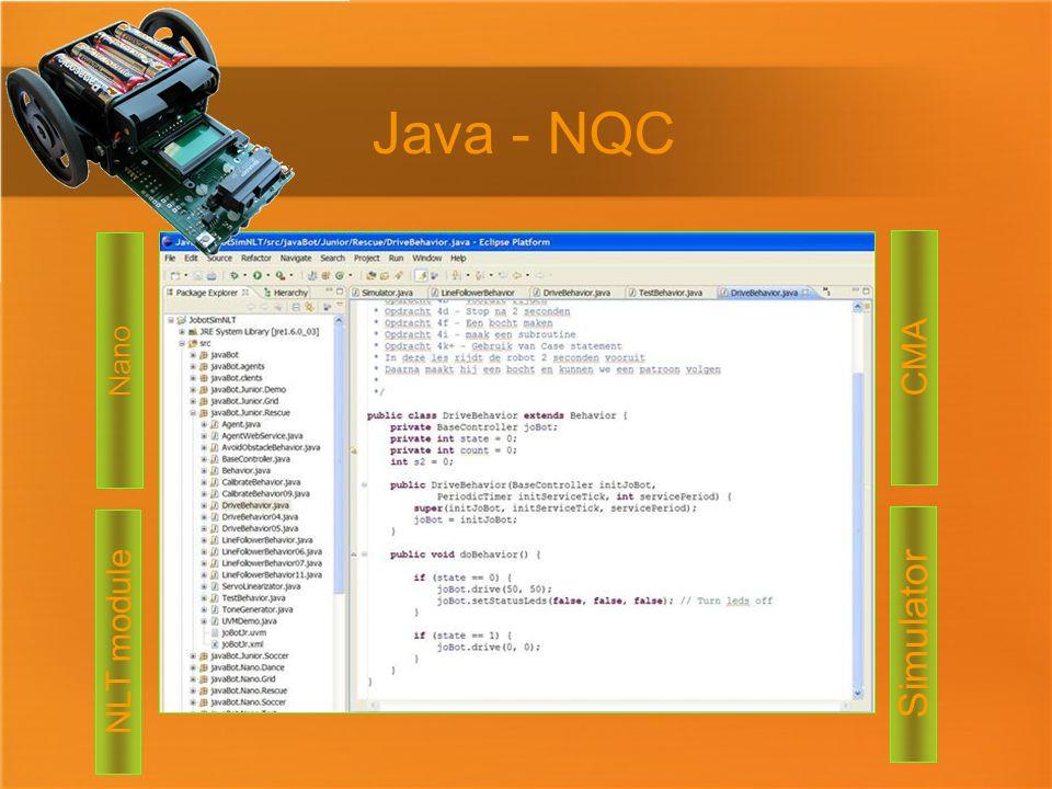 Simulator Java - NQC Nano CMA NLT module