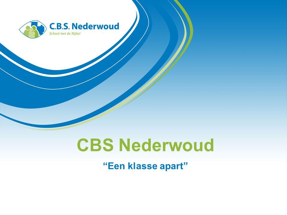 CBS Nederwoud Een klasse apart