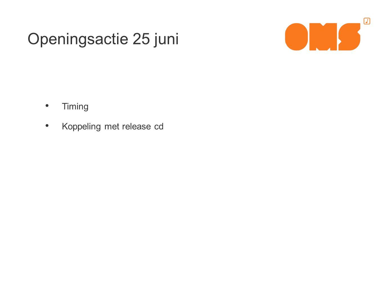 Timing Koppeling met release cd
