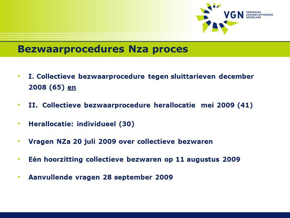 Bezwaarprocedures Nza proces I.