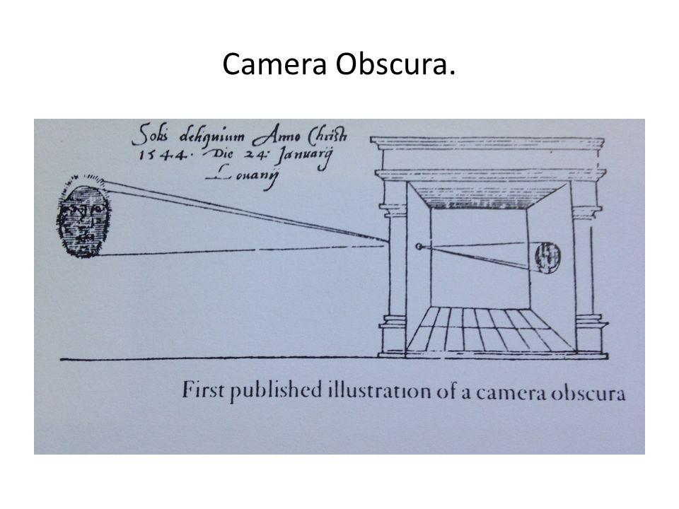 Camera Obscura.