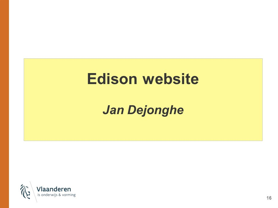 Edison website Jan Dejonghe 16