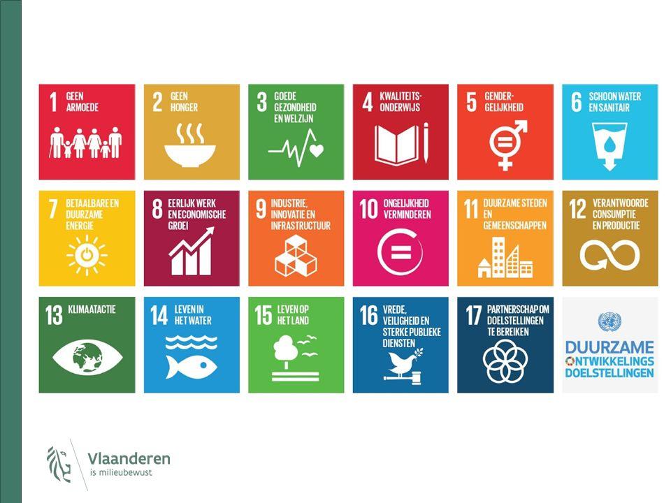 SDG-aanbod voor Vlaamse steden en gemeenten een informatiebrochure die de vertaalslag maakt voor lokale besturen (ontwikkeld m.m.v.