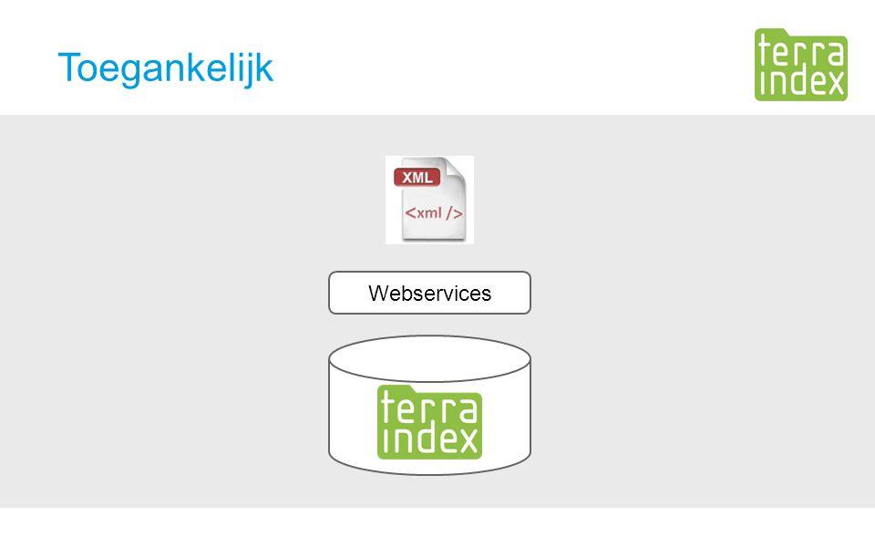 Toegankelijk Webservices