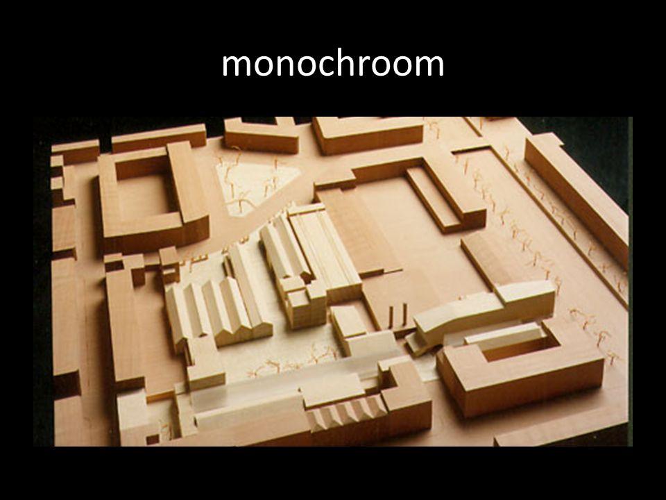monochroom